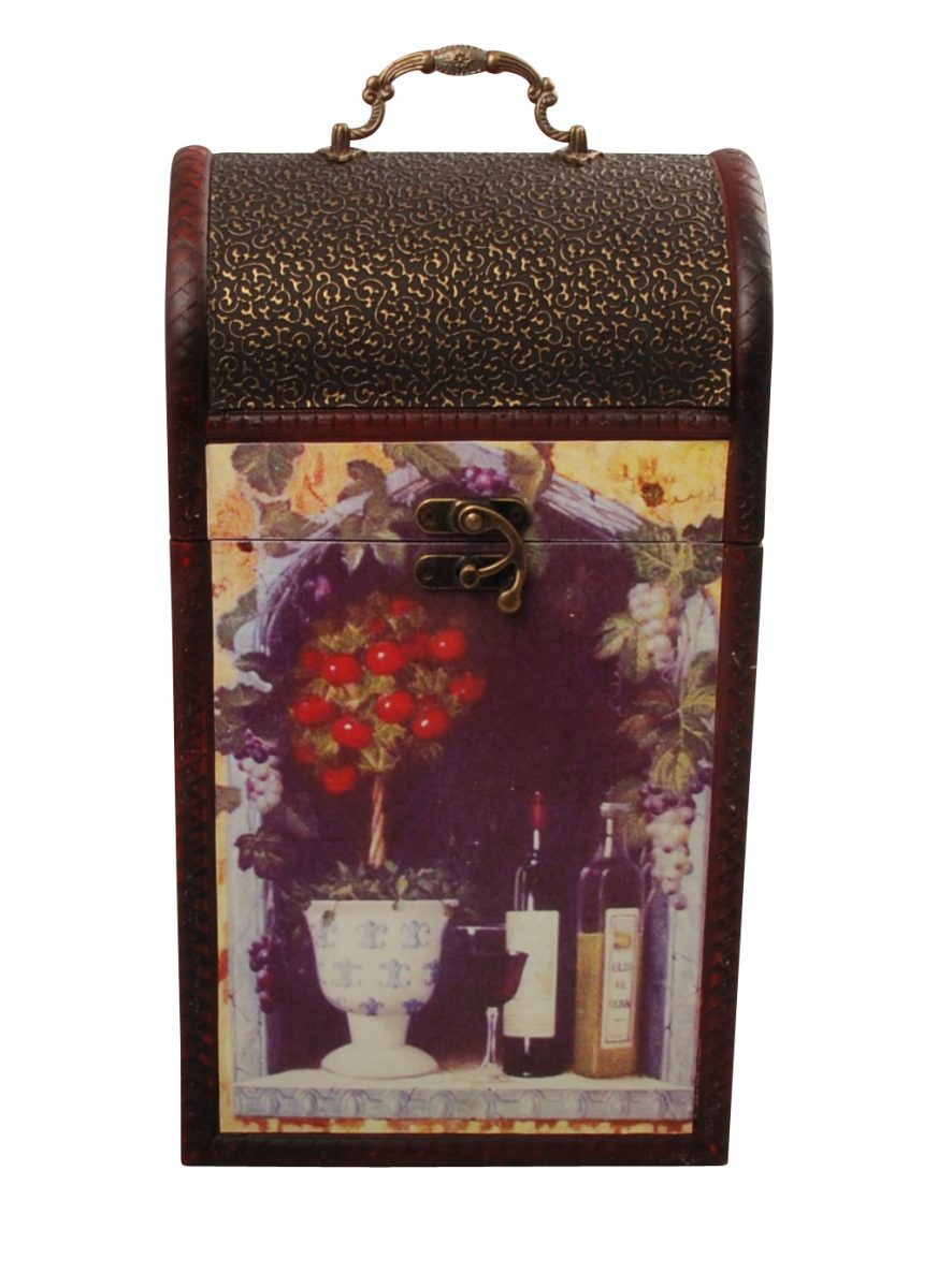 gift box for two bottles of wine