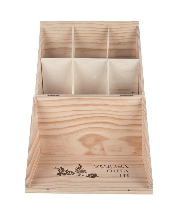 In Vino Veritas, Box for 6 Bottles of Wine